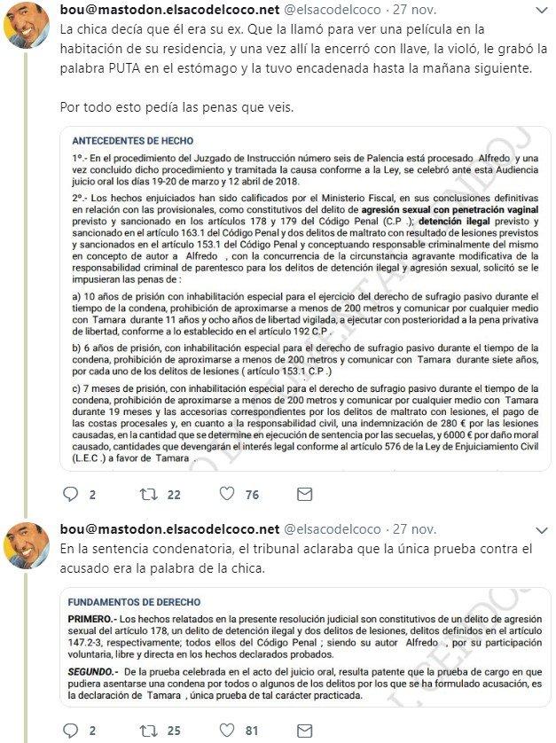 ¿Que ningún hombre entra en el talego solo con la declaración de la  supuesta víctima  VEAMOS  eb2c499f4e7