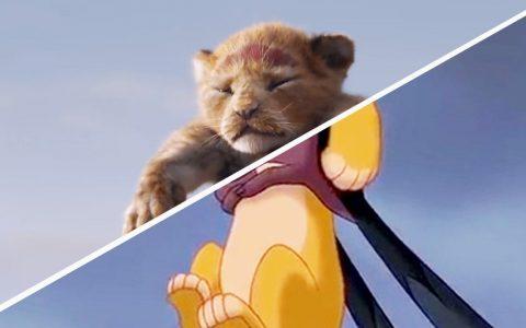 Comparativa entre El Rey León (2019) y la película de dibujos animados