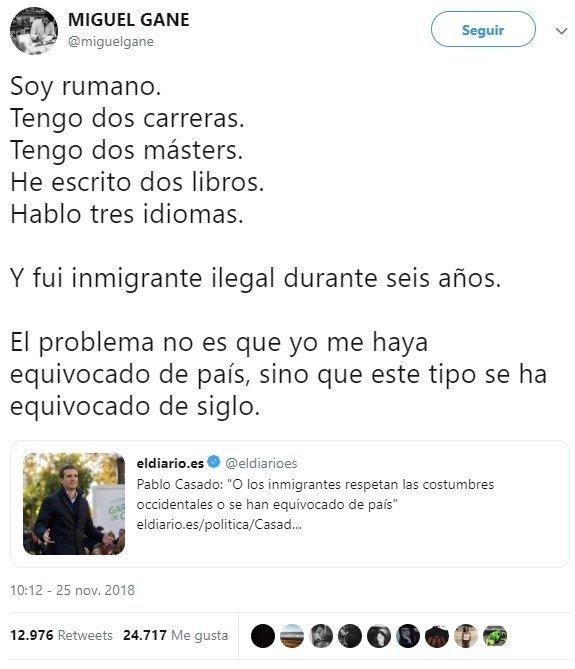 """Pablo casado buscando los votos de """"centro"""""""