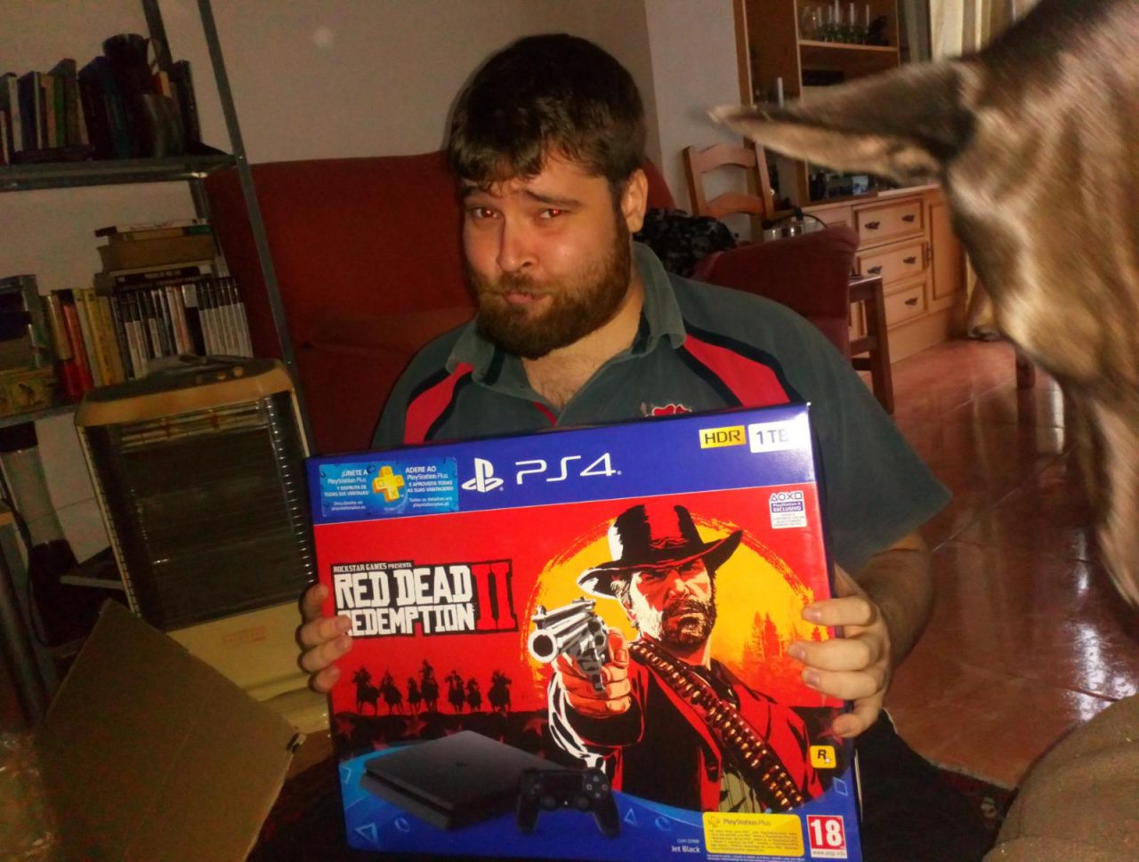 ¡Lel ya ha recibido su PS4!
