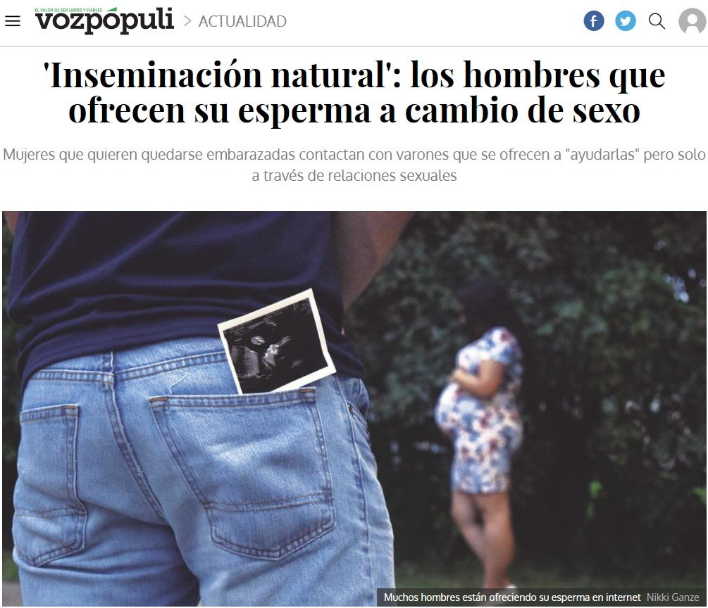 Millennials descubren la reproducción