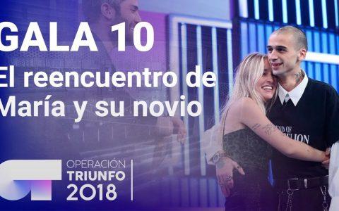 """El reencuentro WTF de María de OT con su novio el """"Mortadelo trapero""""."""
