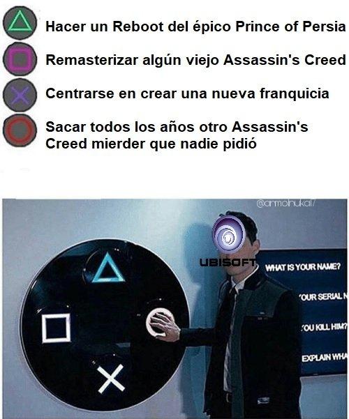 Grasias Ubisoft