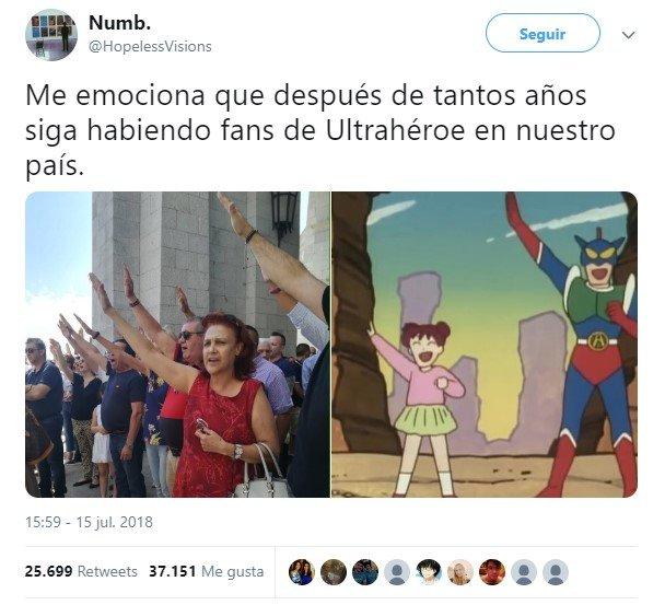 Mucho ultra, poco héroe