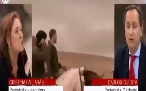 Cristina Fallarás hace honor a su nombre