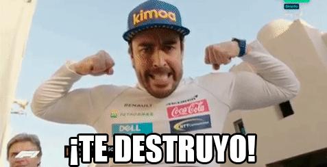 Alonso nos está pidiendo algo...