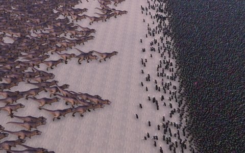 3.000 Tiranosaurios Rex vs 20.000 Jedis