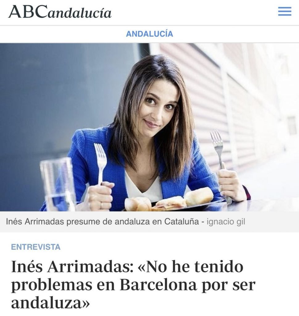 Inés Arrimadas tiene más identidades que Mortadelo