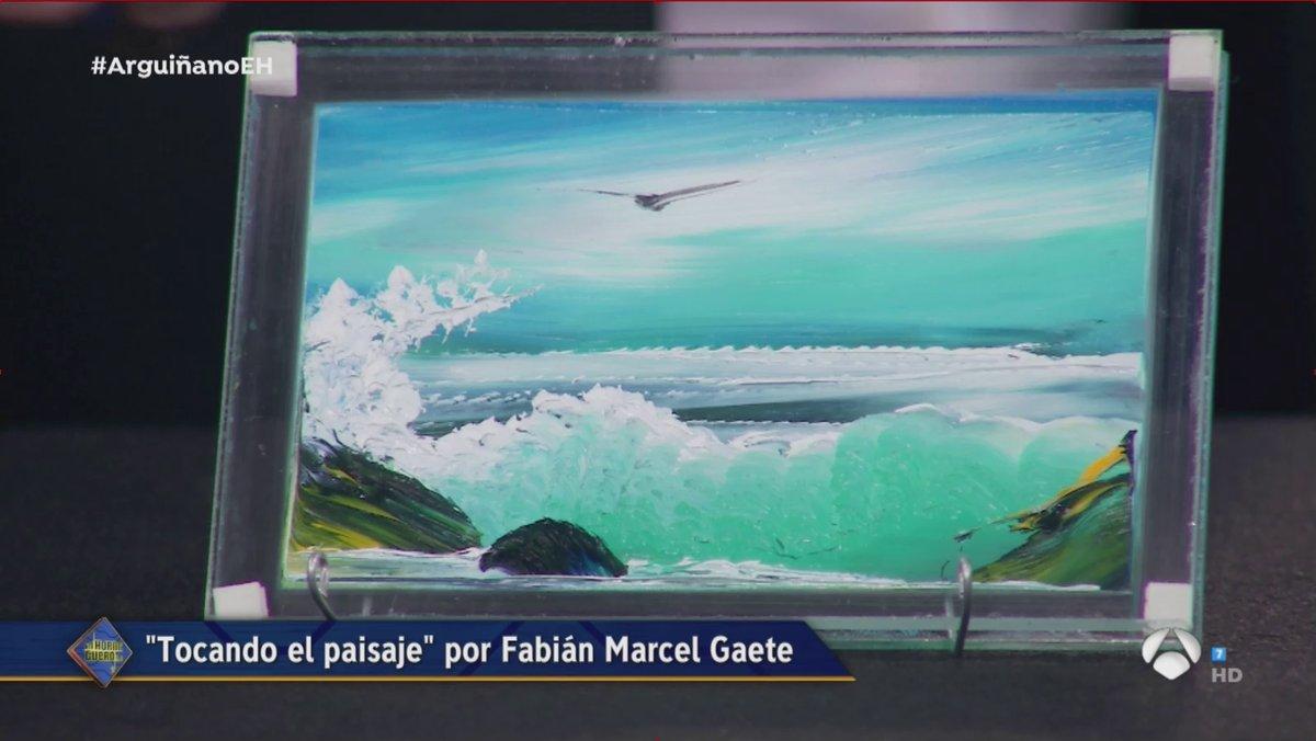 Fabián Marcel: el tío que hace cuadros en 30 segundos visitó ayer el hormiguero