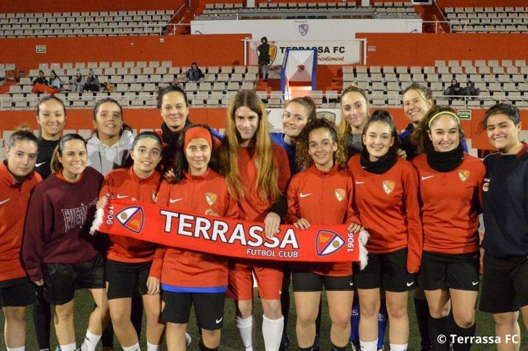 Valentina Berr, segunda futbolista trans de España, ficha por el segundo equipo femenino del Terrassa FC