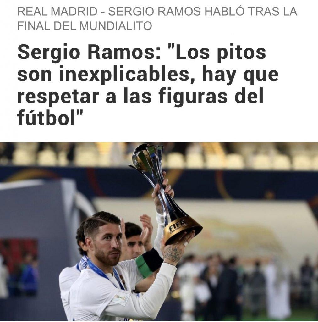 Sergio Ramos ¿hipócrita? Podrá ser un mentiroso, un cerdo, un idiota, un hipócrita... pero de actor p0rn0 no tiene nada