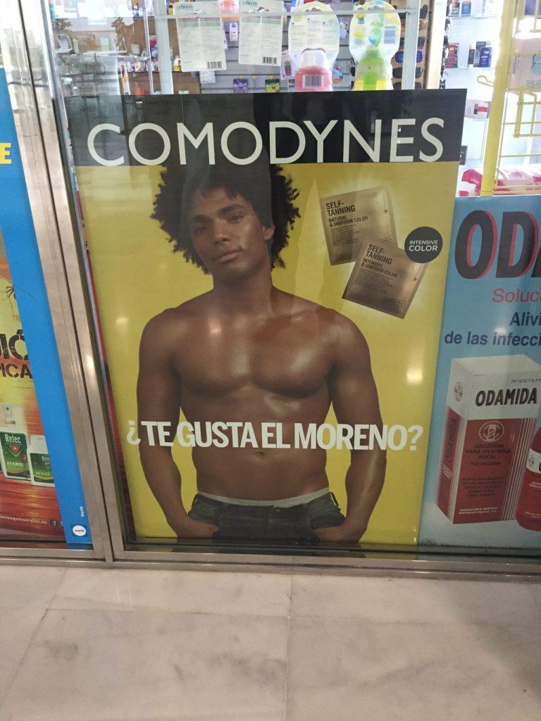 Claro heteropatriarcado supremacista cis normativo visto en Almería.