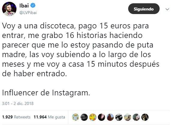 La dura vida del instagramer