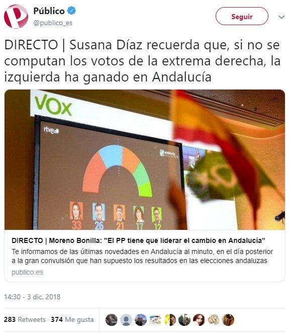 La cuenta de la vieja de Susana Díaz