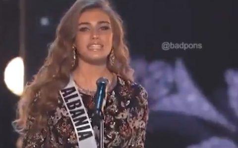 Las candidatas de #MissUniverse gritan los nombres de sus países como cuando los Power Rangers llaman a los Zords...