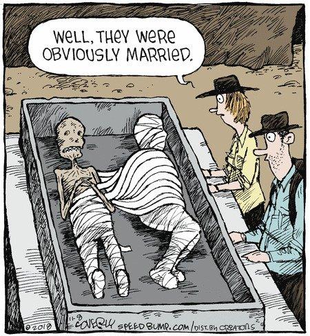 Vale, es obvio que estaban casados