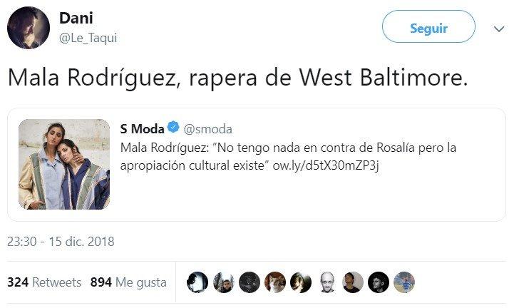 """""""No tengo nada en contra de Rosalía, pero mecago en sus muertos a caballo"""""""