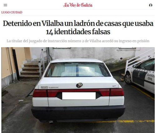 Alfa Romeo, el coche preferido por los delincuentes