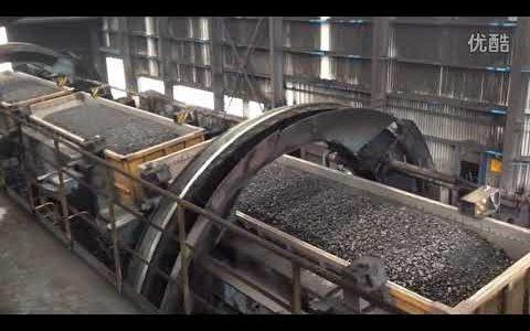 Así se descarga el carbón en algunas plantas generadoras de electricidad que usan este combustible