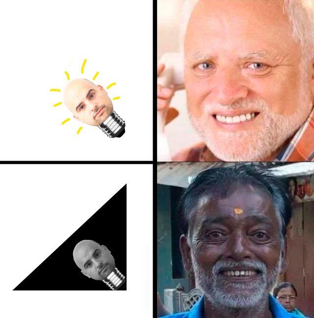 El Harold oscuro