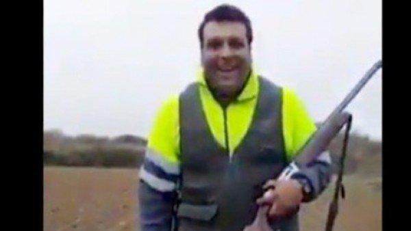 Detenido el cazador de Huesca que grabó cómo daba una paliza mortal a un zorro