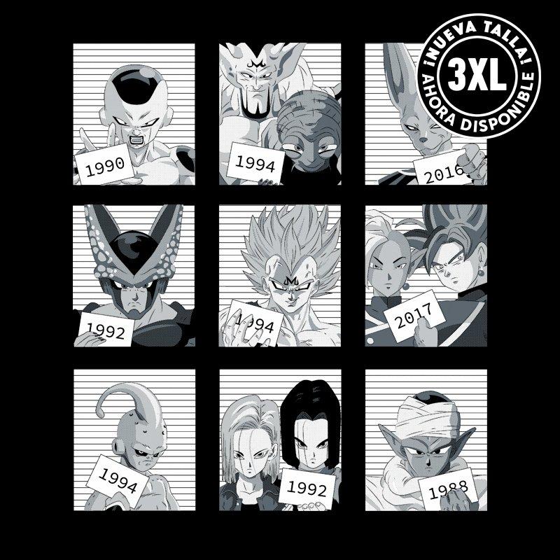 Camiseta Dragon Villain Jail