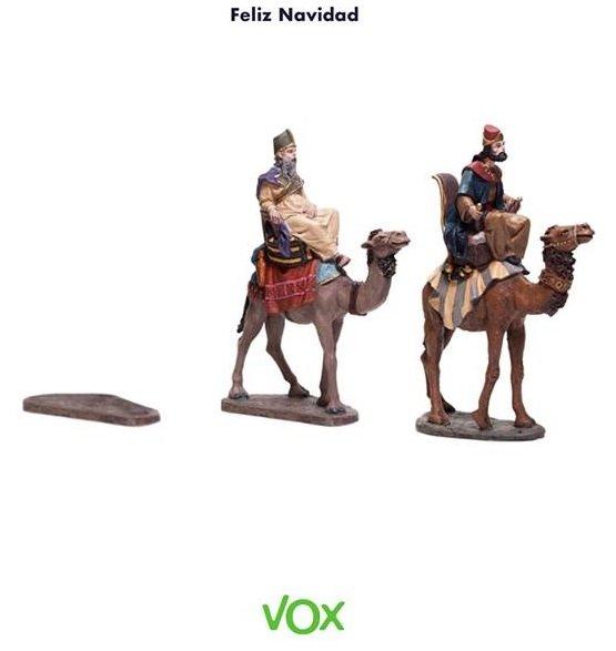 VOX os desea una blanca Navidad