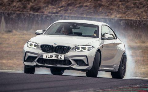 Chris Harris prueba el nuevo BMW M2 Competition