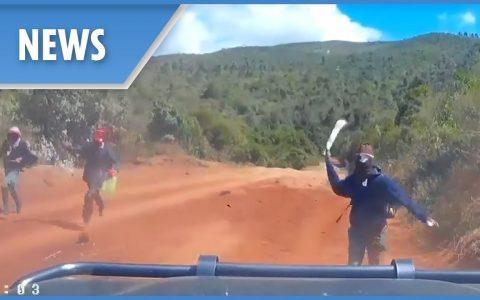 Cosas que pasan cuando te estás dando un paseo por Kenia