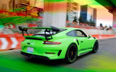 Cuando Porsche te deja un GT3 RS porque tienes 4,4 millones de suscriptores, y lo pones a 230 por vía urbana xd