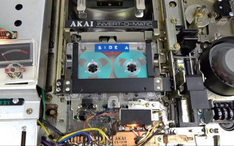 El sistema auto-reverse de cassette más innecesariamente complejo del mundo