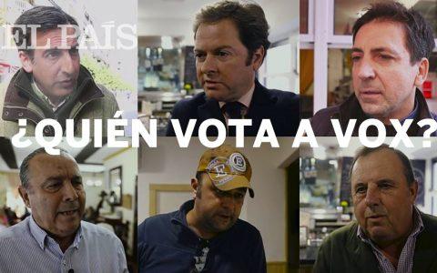 Entrevistando a votantes de VOX