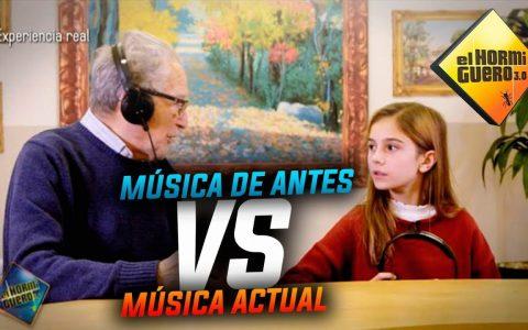 Experimento: viejunos escuchando música moderna, y chavales escuchando música viejuna