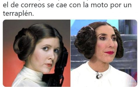 Leia y su doble de acción