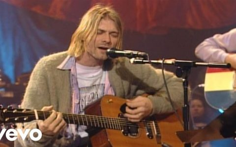 Nirvana - About A Girl (MTV Unplugged, 1994)