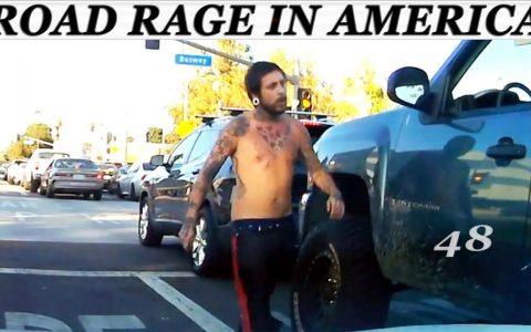 ROAD RAGE: Recopilatorio de gente con poca paciencia en las carreteras de América