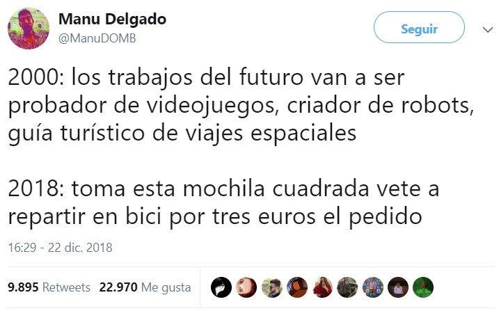 Los trabajos del futuro