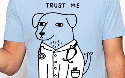 Camisetas Trust Me I'm a Ducktor & Dogtor