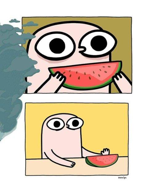 Todos hemos pensado esto al comer una sandía con pepitas