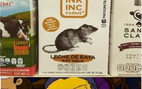 Los Simpson también predijeron la leche de rata