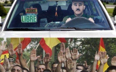 El taxista más solicitado el 12 de octubre
