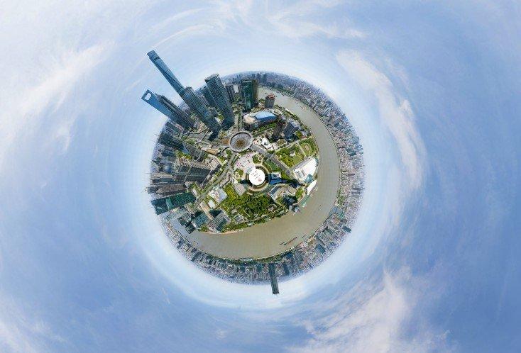 Foto capturada por una cámara china con 24.9 mil millones de píxeles