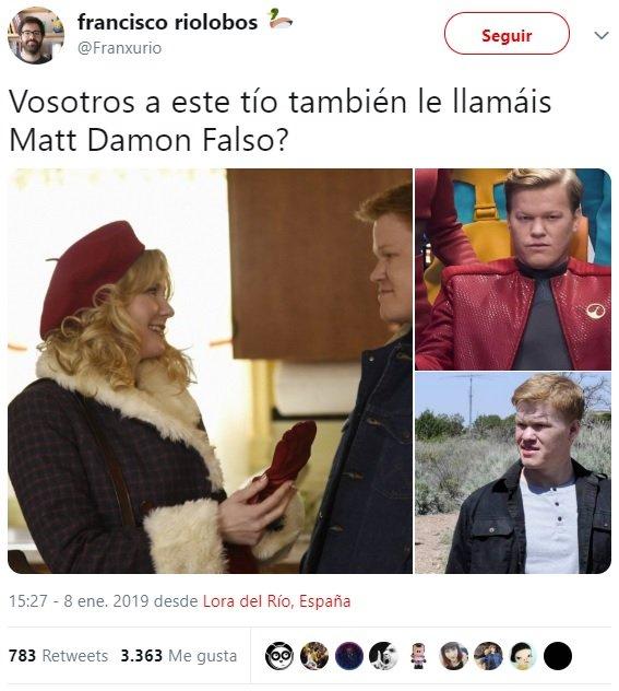 Matt Damon Hacendado