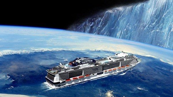 Los creyentes de que la Tierra es plana intentarán llegar hasta el supuesto muro de hielo del fin del mundo en un crucero