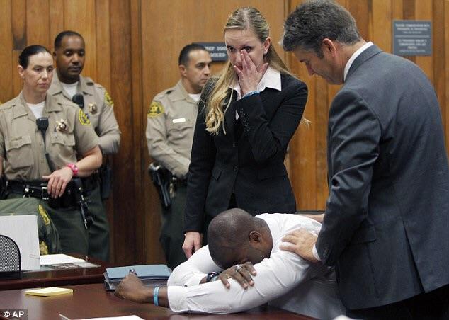 Brian Banks, el jugador de fútbol americano que pasó 6 años en la cárcel por una acusación falsa de violetación