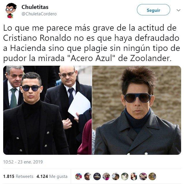 Cristiano es insaciable