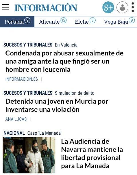 Diario La Información, ¿me quieres decir algo?