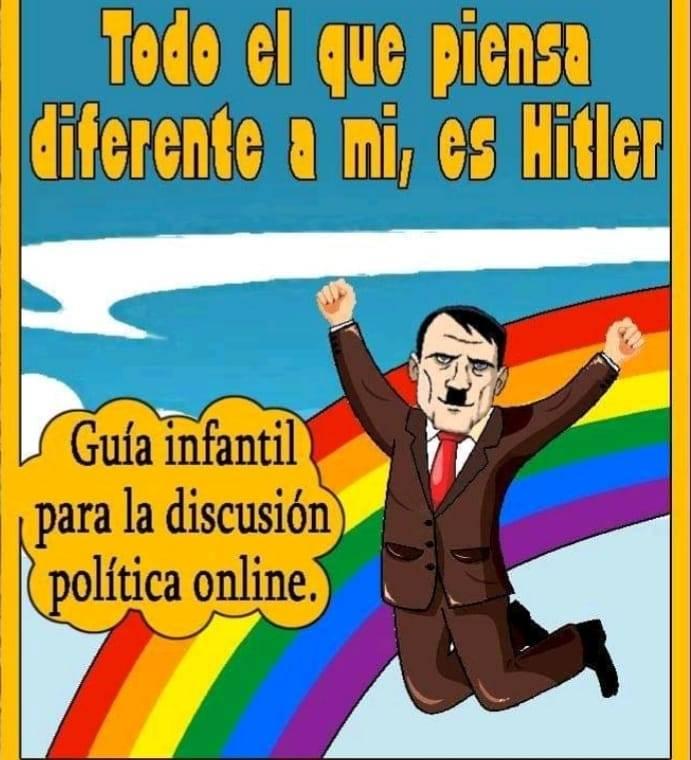 Guía infantil para la discusión política online