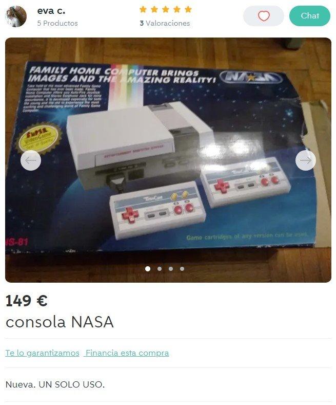 La NES de Pedro Duque por solo 149 pavos