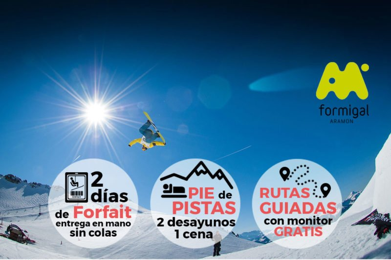 Finde de esquí en Formigal